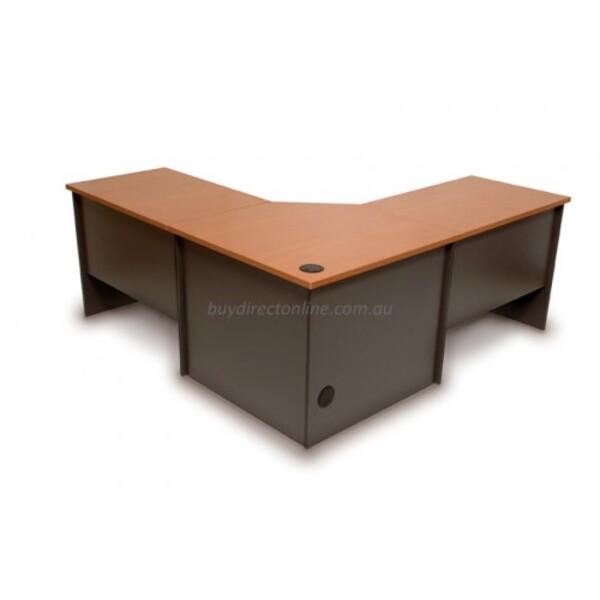 Origo Corner Desk Workstation Office Desks 2100 x 2100