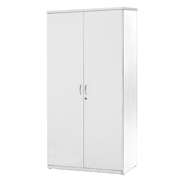Origo White 2 Door Storage Cupboard - 1800 x 900, Lockable Doors