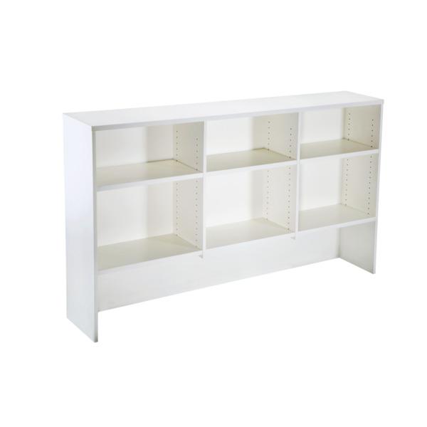 Rapid Vibe Office Desk Corner Workstation with Optional Storage Hutch Shelving