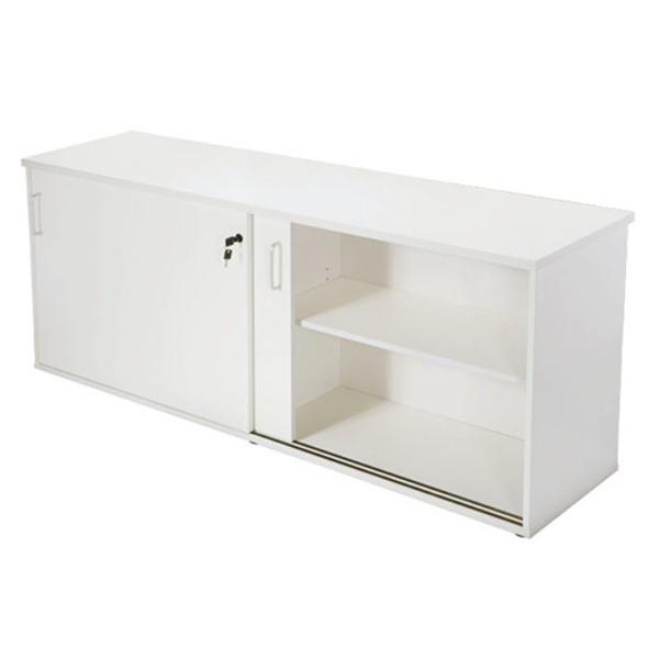 Rapid Vibe Office Sliding Door Storage Credenza Cupboard