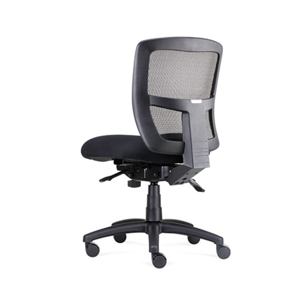 Ergo Task Mesh Office Operator Chair Seat Slide & 165kg Weight Rating Optional Arms