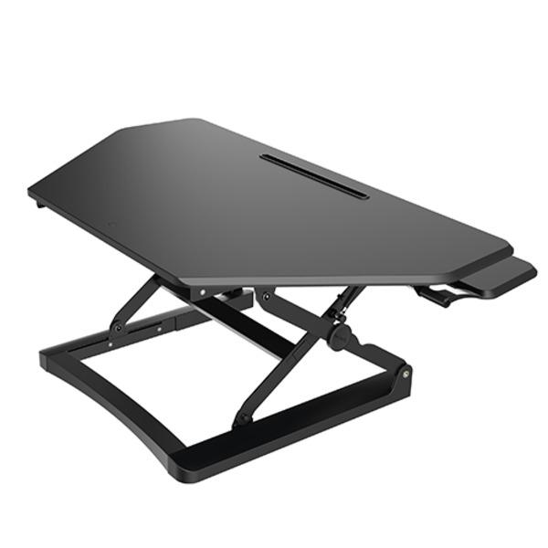 Arise Corner Deskalator Sit To Stand Desk
