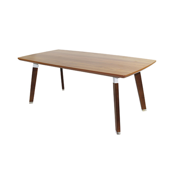 Arbor American Walnut Top & Solid Timber Leg Coffee Table