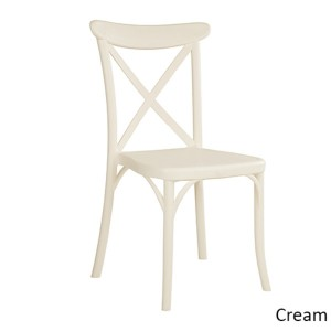 Capri Chair X Back Stacking Visitor Office Cafe Restaurant Outdoor Chairs