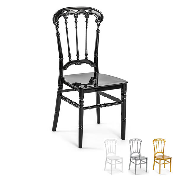 Roma PP Stacking Visitor Office Cafe Restaurant Outdoor Chair