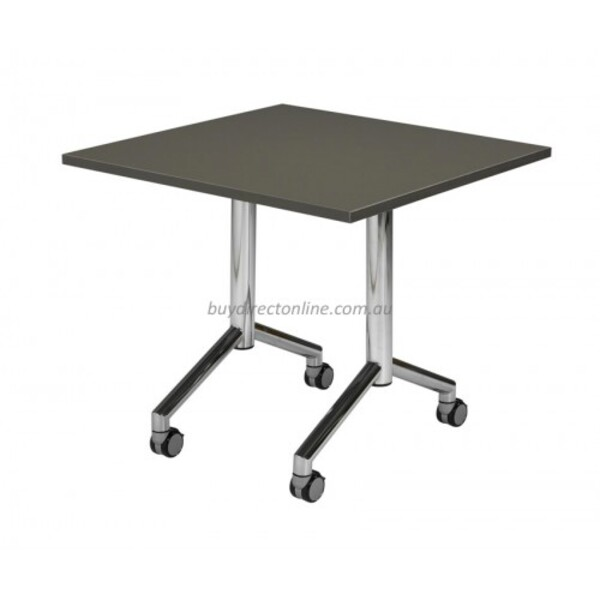 Velocity Folding Table, Flip Top Tables, Mobile Office Table Bright Colours