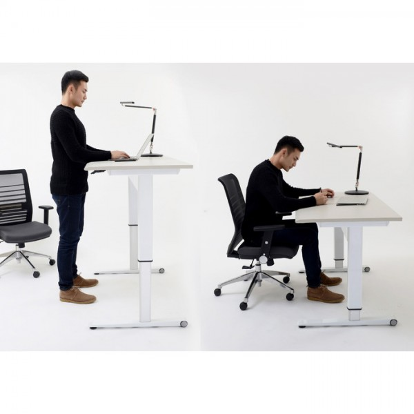 Airo Gas Lift Operated Height Adjustable Sit Stand Desk