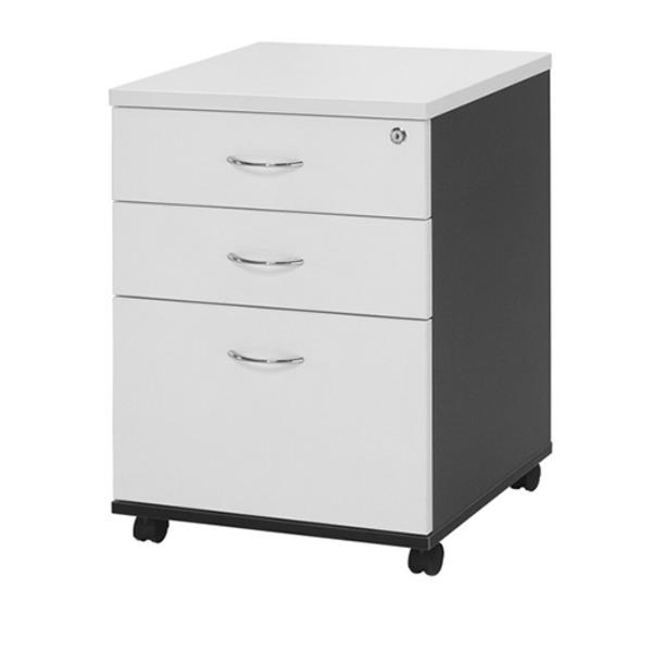 Logan Office Mobile Pedestal 3 Drawer Storage Filing