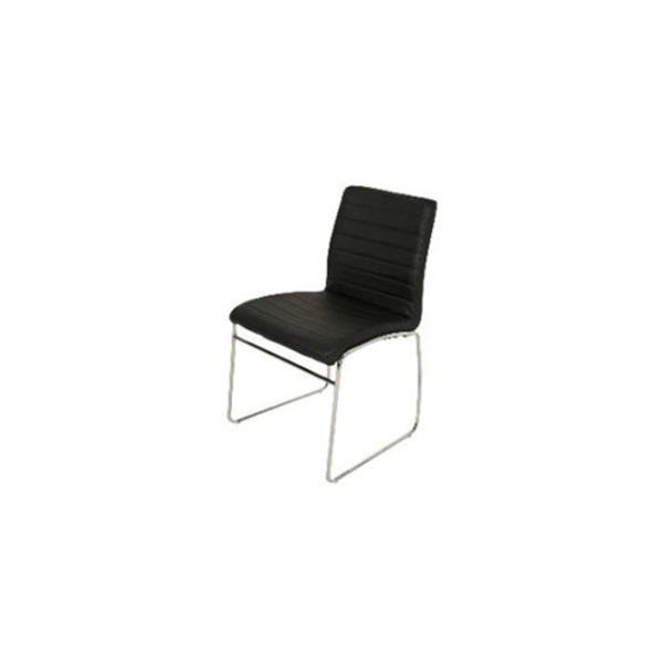 Coogee Dining Chair with Chrome Base