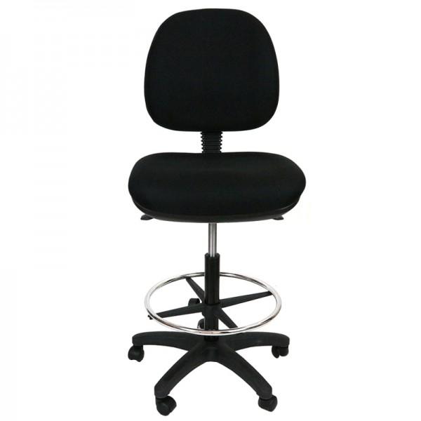 Express Drafting Teller Office Chair P350 Ergonomic Medium Back