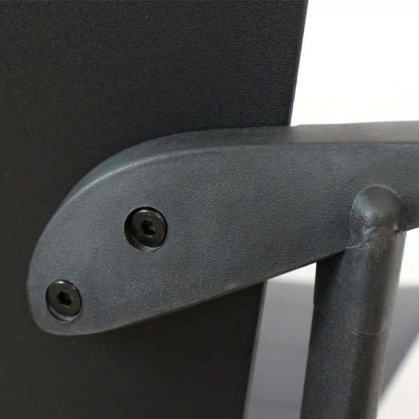 Zipp Visitor 4 Leg Chair - Super Strong 160kg Rated + Optional Arms