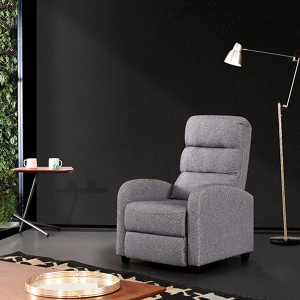 Luxury Fabric Recliner Chair with Ultra Plush Cushion