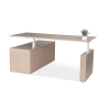First Office Idea Kingston Height and Width Adjustable Executive Desk