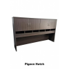First Office Idea Sliding Credenza Hutch Combo