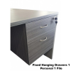 First Office Idea Blackline Wood Office Setting Combo Deal