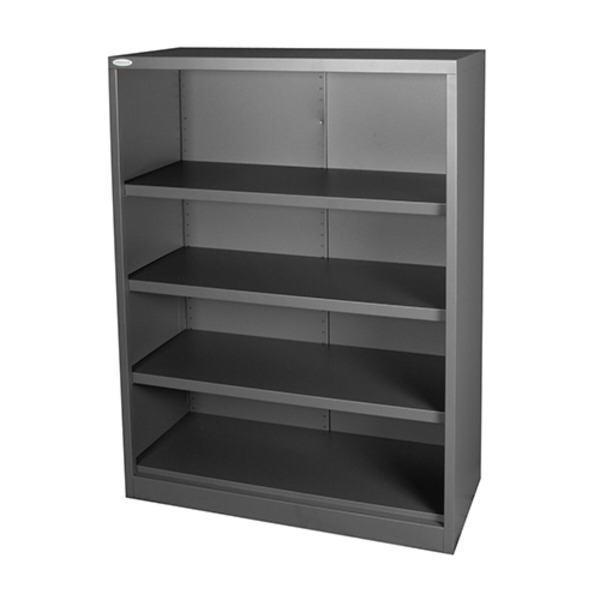 Steelco Metal Open Bookcase Shelving Storage Filing