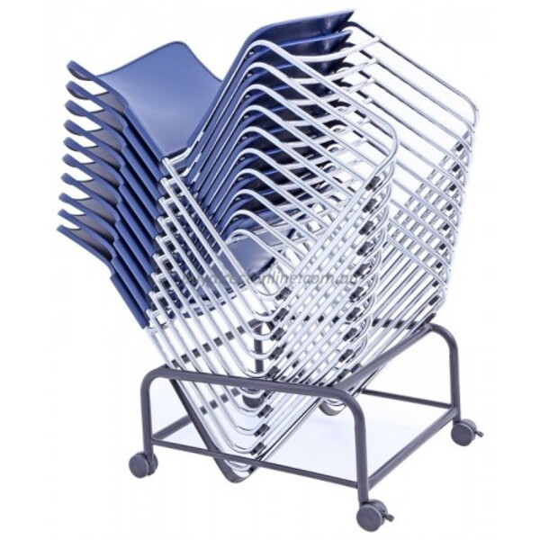 Opal 100 Sled Base Plastic Stackable Visitor Chair