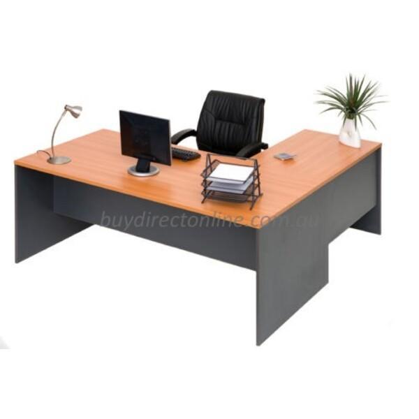 Origo Office Home Study Computer Desk with Optional Hutch Shelving