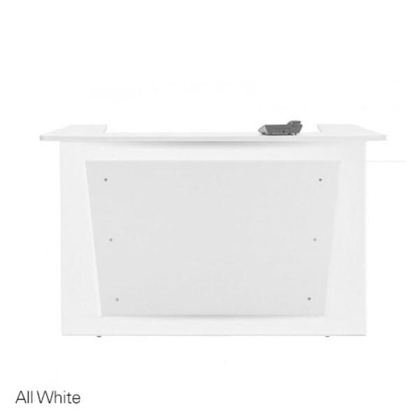 Hair & Beauty Salon Reception Counter - All White