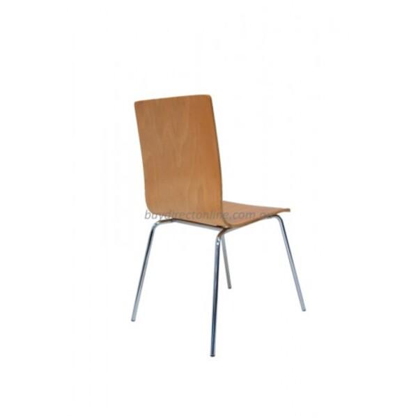 Jazz Timber Cafe Restaurant Hotel Dining Chair - Beech Wood