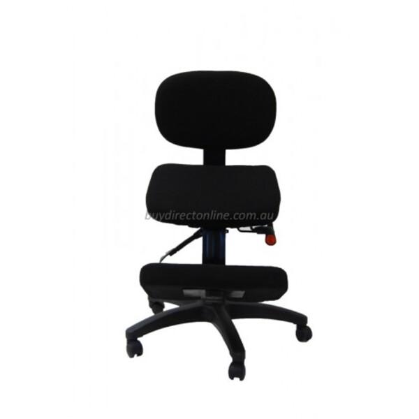 Kneeling Chair Ergonomic Posture Correct Seating Optional Back Rest