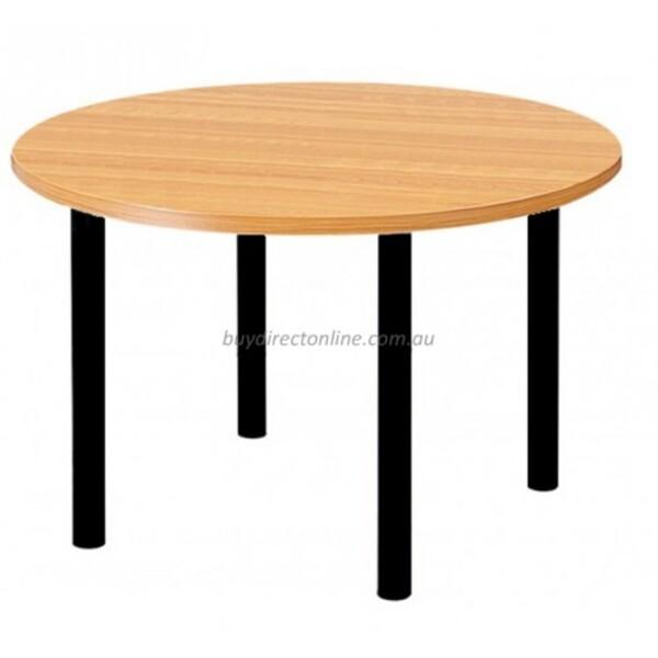 Ronda Round Coffee Table 600mm DIA Top & 4 Metal Legs