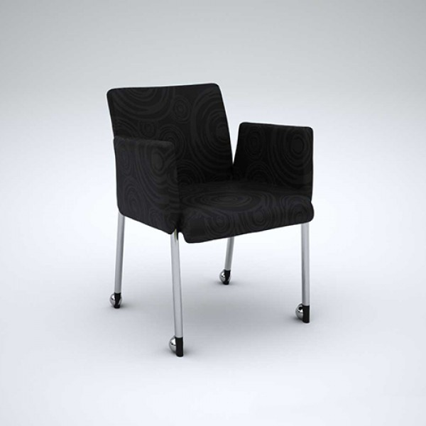 Boxer Tub Chair Mobile Meeting Visitor Conference Room Seating *Special Clearance Less Than 1/2 Price*
