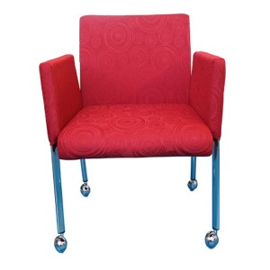 Boxer Tub Chair Mobile Meeting Visitor Seating *Special Clearance Price*