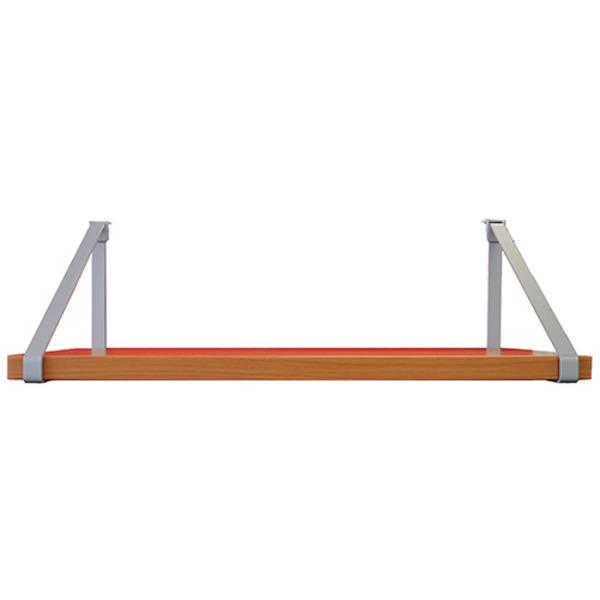 Screen Mounted Hanging Shelf