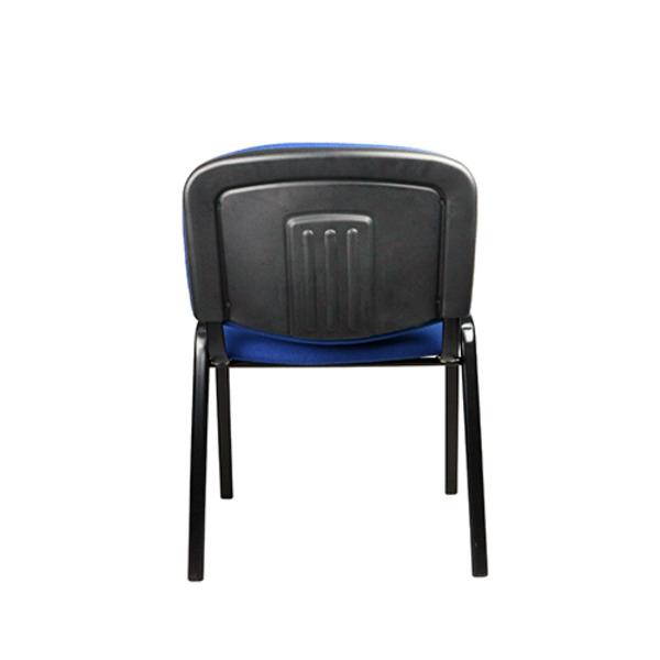 Apollo Blue Fabric Visitor Chair 4 Leg