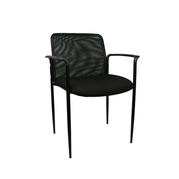 Metro Mesh Visitor Chair YS60 With Arms