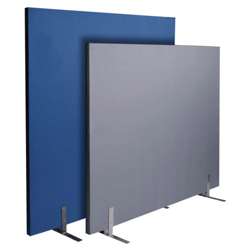 Acoustic office screens partition dividers free standing for Free standing screen