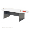 Origo Boardroom Meeting Table - D End 2400 x 1200
