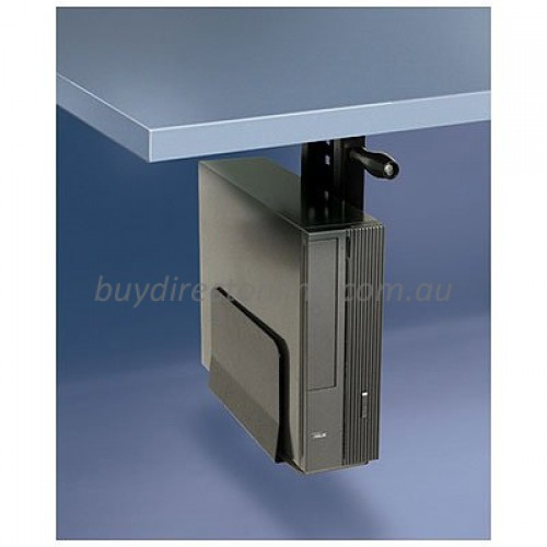 Computer Tower Desktop Pc Box Cpu Holder Black