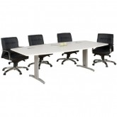 Chicago Meeting Table - Single Leg