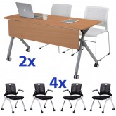Adapta Training Folding Table & Chair Combo