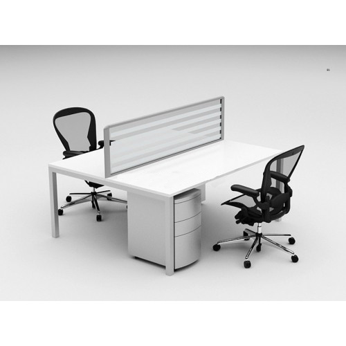 cubit raceway 2 person desk pod