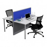 System 30 Raceway Workstation Desk 2 person