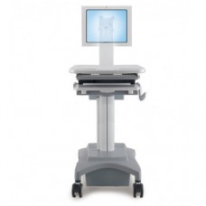 Medical Mobile Computer Cart - Single Monitor