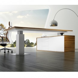 Evolution Executive Desk Electric Height Adjustable