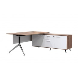 Potenza Desk with Return