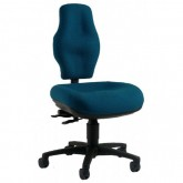 Police Chair - Back Rest Designed / Shaped for Police Officer Use