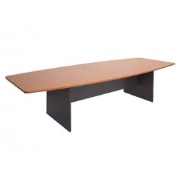 Boat Shape Boardroom Table