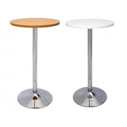 Chrome Base Bar Table