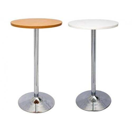 Dry Bar Chrome Base Drinks Table