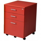 Red Mobile Pedestal Drawer