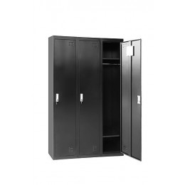 Three-Door Locker