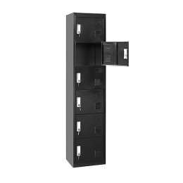 Six-Door Vertical Locker