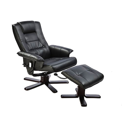 Massage Recliner with Footrest
