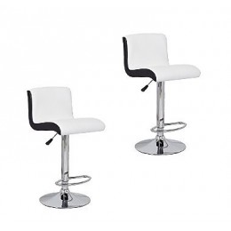 Black and White Bar Stools